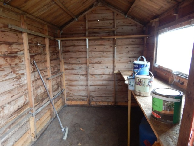 empty shed