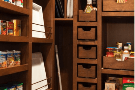 cool kitchen pantry design ideas 12