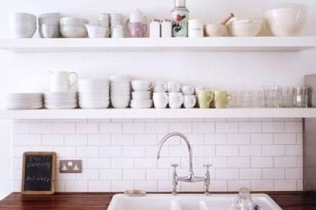 40 ideas of using open shelves on a kitchen | shelterness
