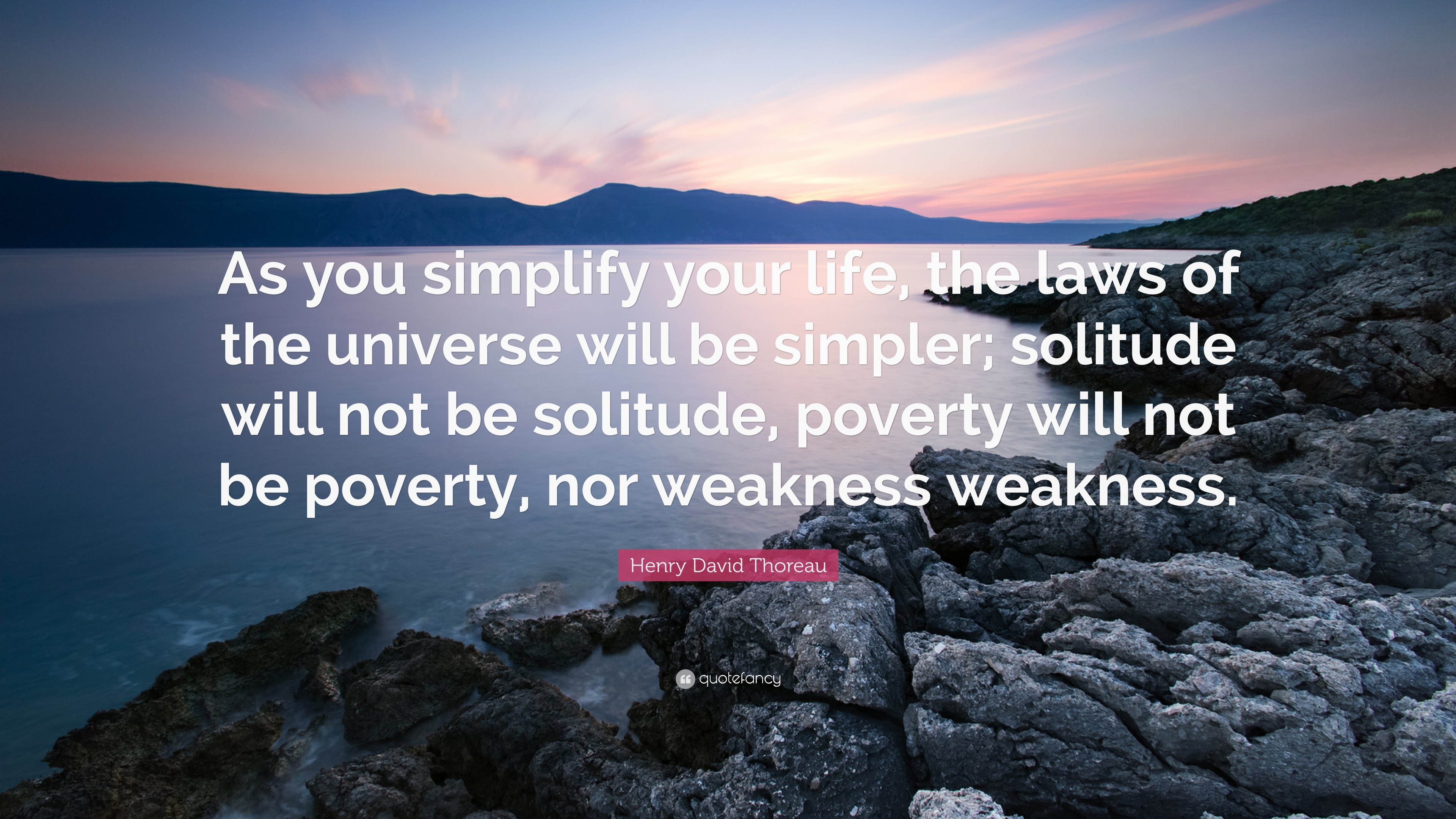 Simplify Life Quotes Thoreau The Minimalists And Opting Out