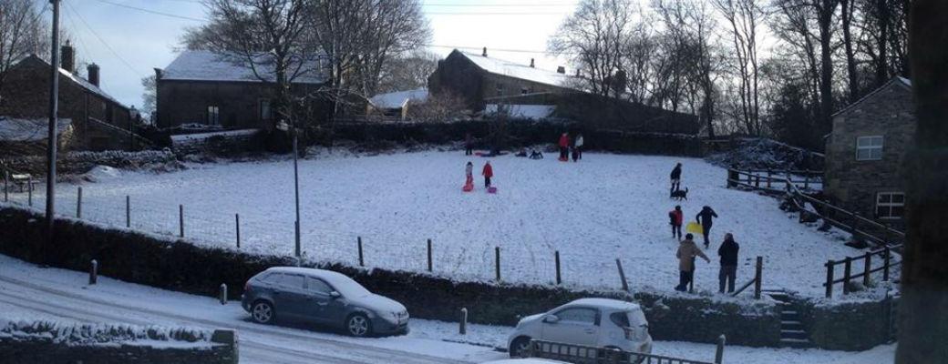 sledging field, shepleyvillage.org