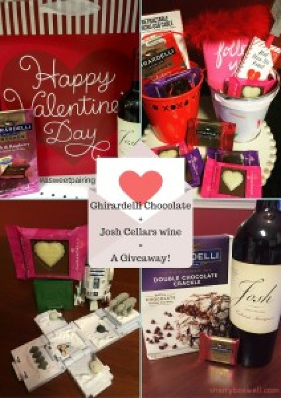 Ghirardelli Chocolate+Josh Cellars wine=A Giveaway!