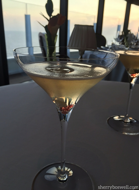 dine at Remy on your Disney cruise the Collette aperifit