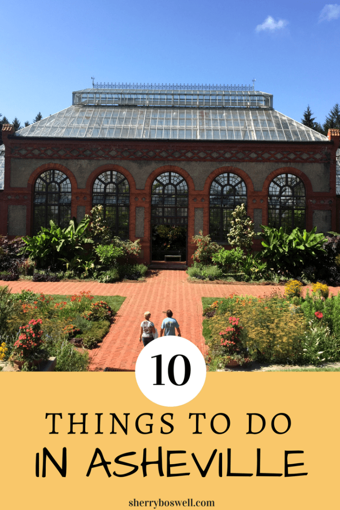 10 Things to Do in Asheville pin