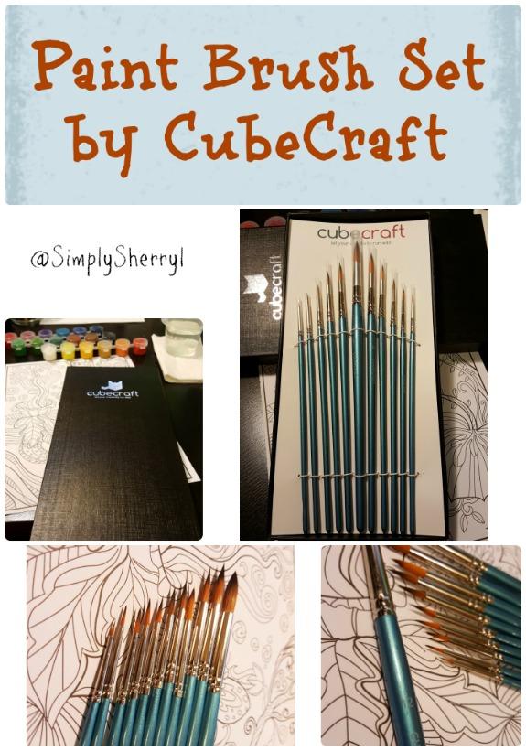 Paint Brush Set by CubeCraft