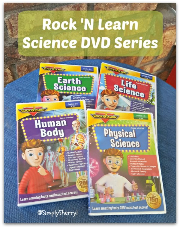 Rock N Learn Science DVD Collection