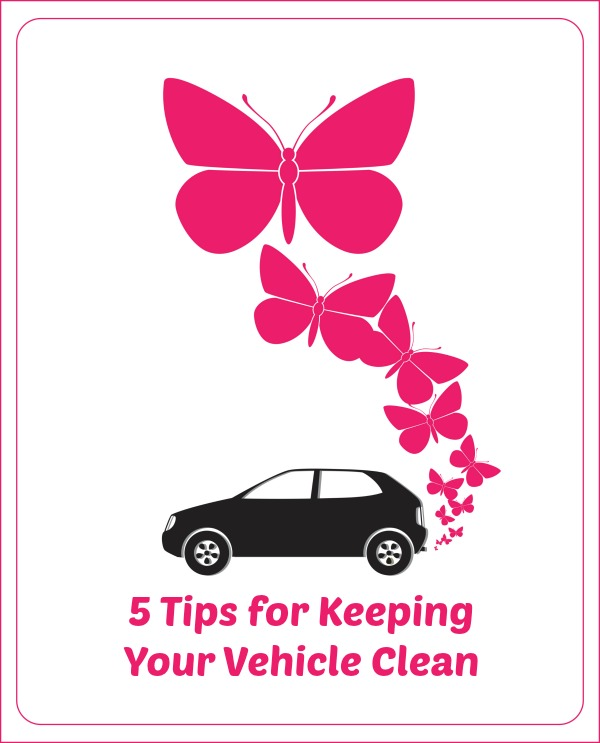 5 tips for keeping your vehicle clean simply sherryl. Black Bedroom Furniture Sets. Home Design Ideas
