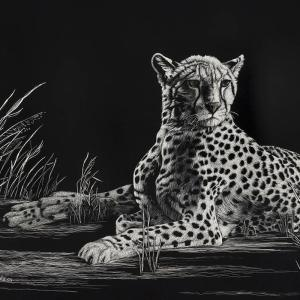 Sherry Steele Artwork - Siren of the Serengeti | Cheetah