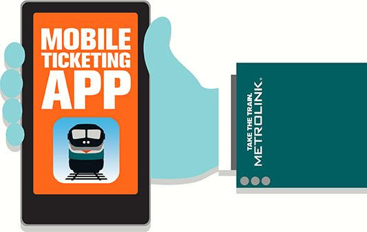 Metrolink Launches Mobile Tickets App