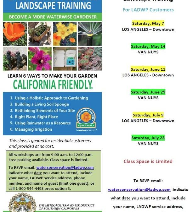 California-Friendly Landscape Training