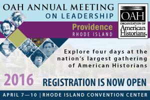 OAH Annual Meeting 2016