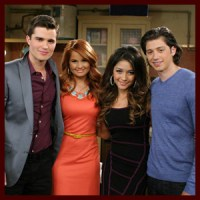 "Photos: Spencer Boldman & Lulu Antariksa Guest Star on ""Jessie"" When the Ex Comes to Town"