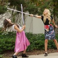 "Kelli Berglund, Olivia Holt, G Hannelius & More Visit Lucasfilm to Celebrate ""Star Wars Rebels"""