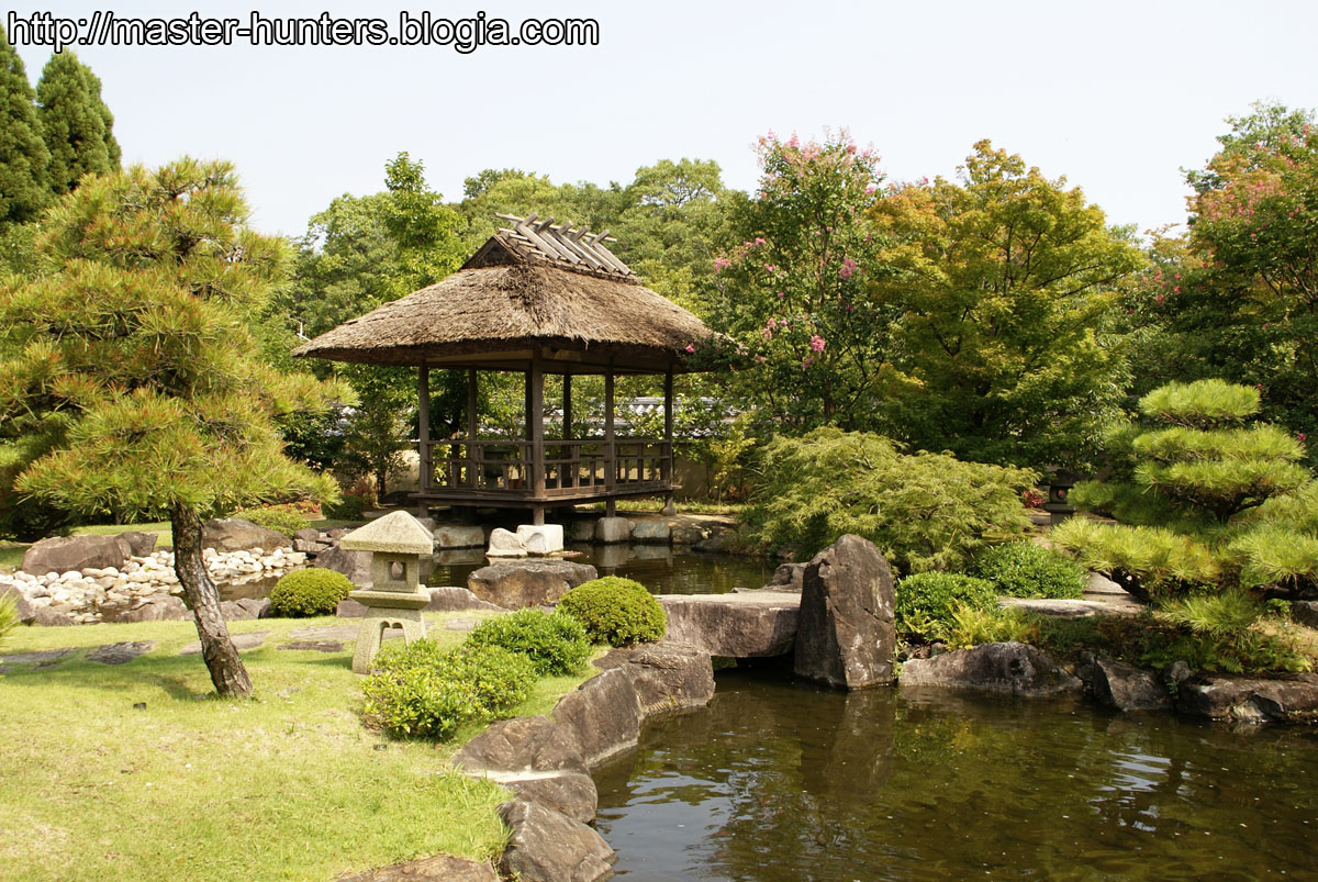 Cr nicas de jap n 2007 d a 09 himeji for Jardin kokoen