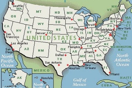 pics photos google map of usa states and cities mapquest