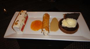 Desserts at Allegro, Wynn