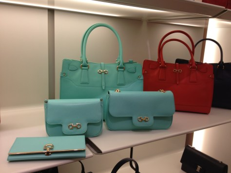 FerragamoIn Handbags and Wallet in Turquoise