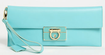 Buy Ferragamo Afel Leather Envelope Clutch from Nordstrom