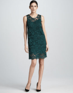 Buy DKNY – Sleeveless Lace Sheath Dress