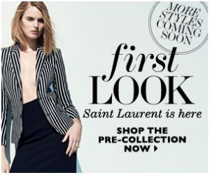 New: Saint Laurent at NET-A-PORTER