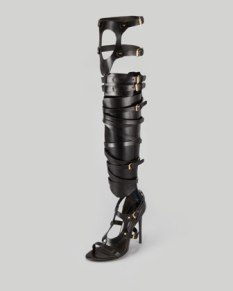 Tom Ford - Strappy Buckled Sandal Boot