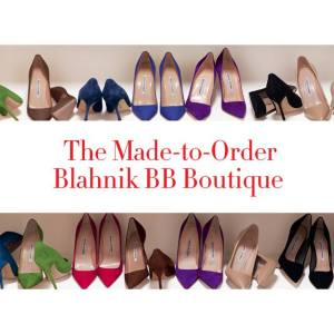 The Made-to-Order Blahnik BB Boutique