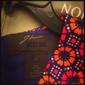 My Dress signed by Jason Wu