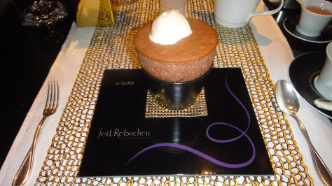 Joel Robuchon - Le Souffle - Chocolate Hot Souffle