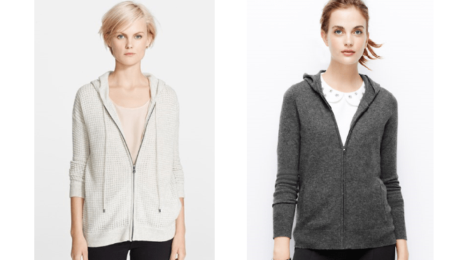 Cashmere Hoodie Sweater for Fall