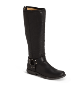 Frye Phillip Riding Boots in Black