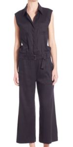 Vince Cotton Sleeveless Jumpsuit