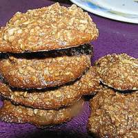 Choco-Oatmeal Honey Cookies