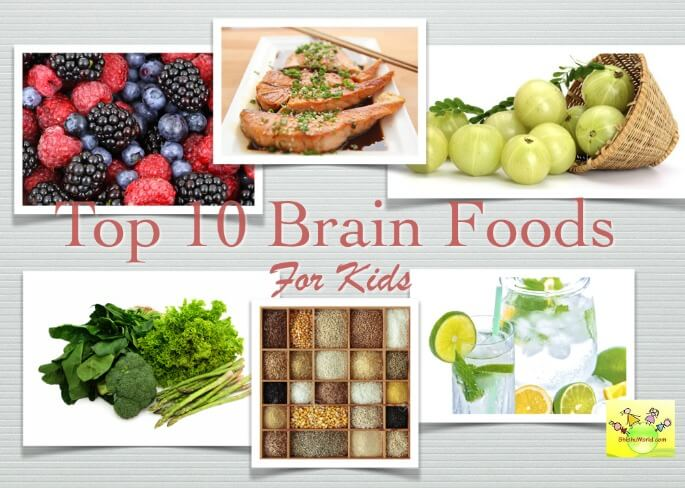 Top 10 brain food for kids
