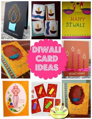 50+ Diwali Crafts, Cards, Books Rangoli, DIY Toran, Home Decor ideas