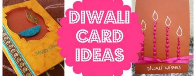 DIY diwali card ideas
