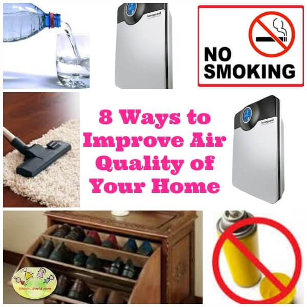 8 ways to improve air quality of your home