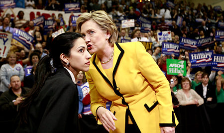 Mrs. Clinton and Weiner