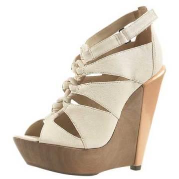 Twist Knot Sandals, £150