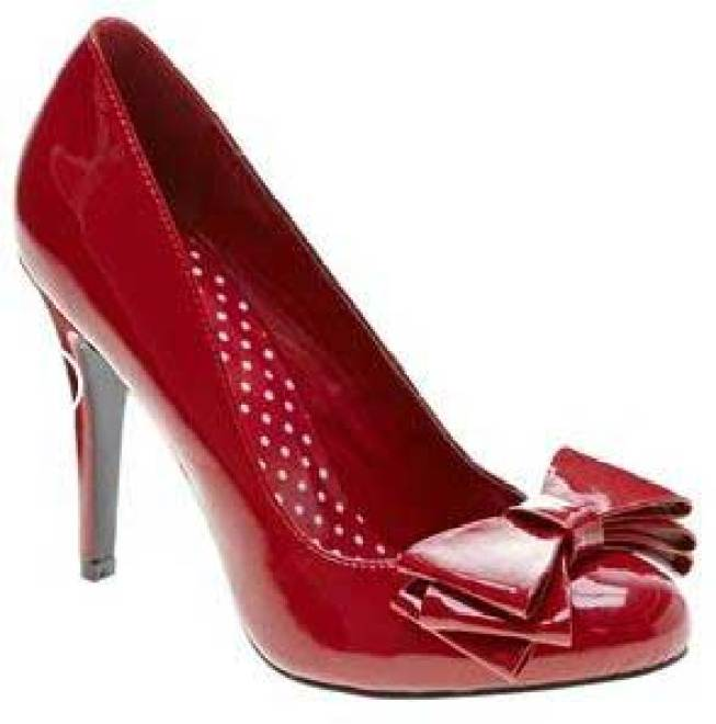 red-three-bow-shoes