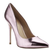 Carvela 'Gunning' pink metallic court shoes