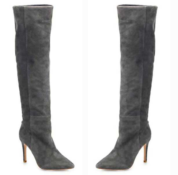 joie grey suede the knee boots gt