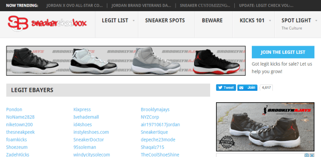 Best Sneaker Websites