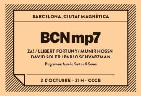 Nueva propuesta del  BCNMP7