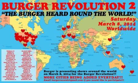 Burger Records celebra este sábado la Burger Revolution