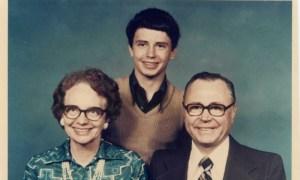 Fotografía familiar de los Johnston, vista en el documental