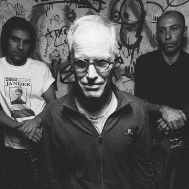 Mark Cunningham, con Lluís Rueda y Kike Bela / Edu Mató