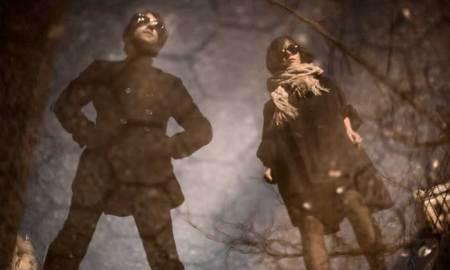 El dúo de Brooklyn, en una imagen promocional // Hundred In The Hands