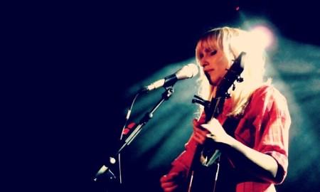 Zahara, a su paso por Barcelona en el Festival de la Guitarra // R. Izquierdo