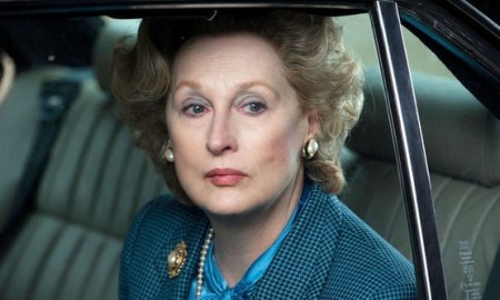 Meryl Streep, premiada por su caracteritzación como Margaret Thatcher