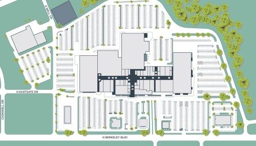 Medium Of Burlington Mall Map